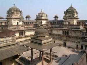 La ville de Madhya Pradesh en Inde
