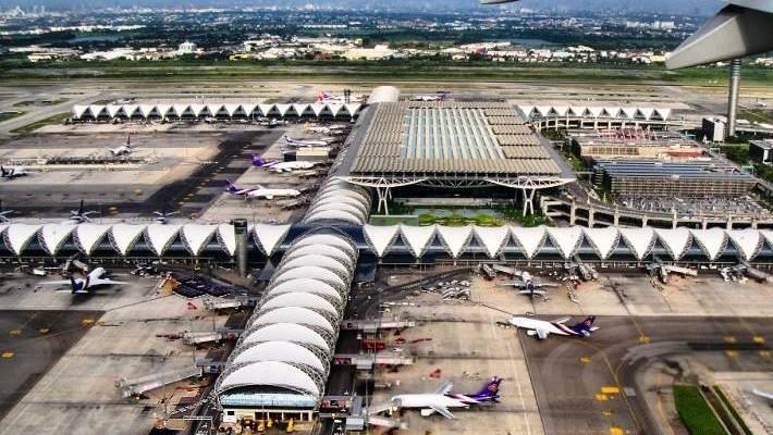 Informations sur les aéroports de Bangkok en Thailande