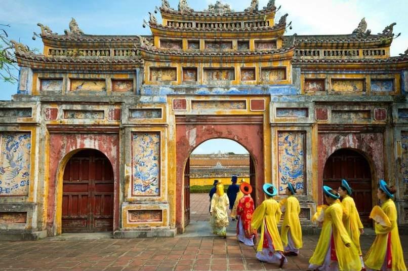 La Cité Interdite de Hué au Vietnam
