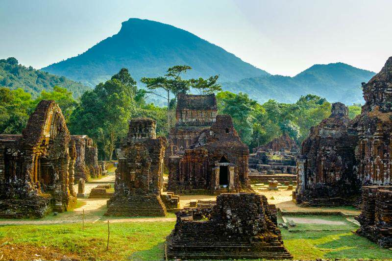 Les temples de My Son au Vietnam