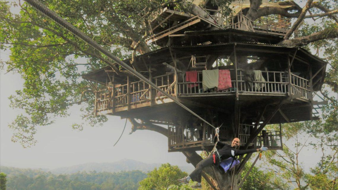 Jungle Treehouse Zip-lining : L'expérience de Gibbon, Laos