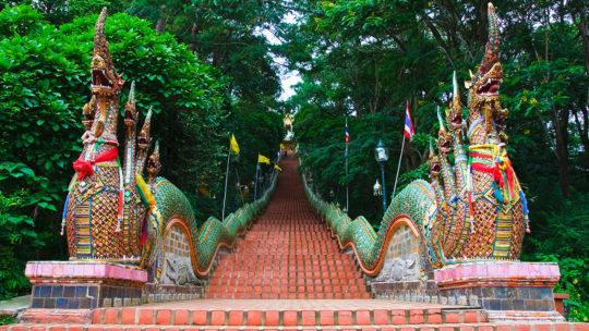 Découvrez les petits secrets connus de Doi Suthep à Chiang Mai.