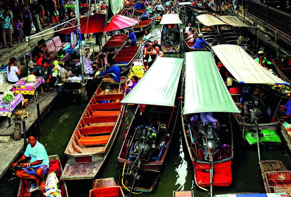 Les 5 principaux marchés flottants de Bangkok