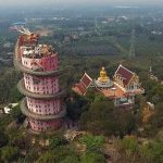 Wat Samphran, le temple du dragon noir en Thaïlande